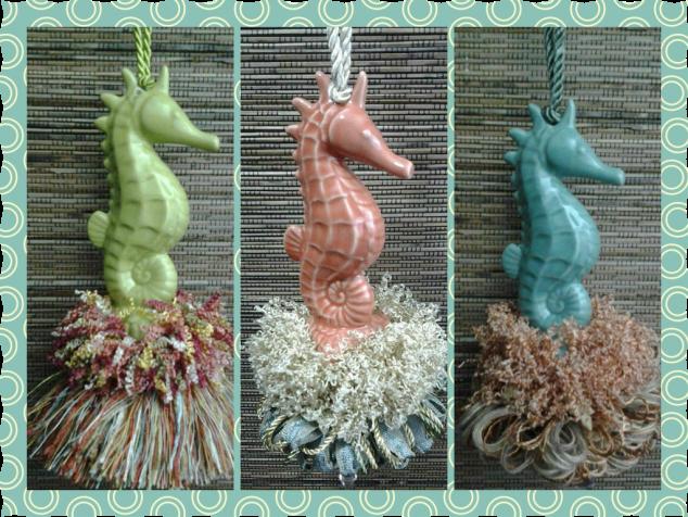 Seahorse Tassels | www.classictasselsandmore.com