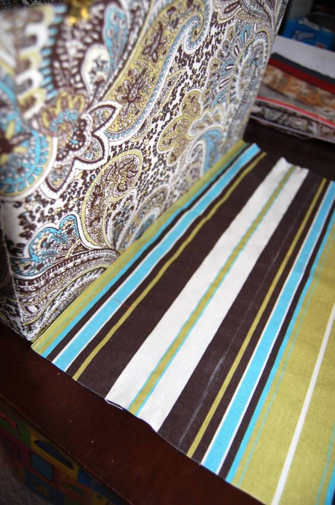 Interior bottom fabric