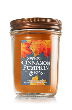 SWEET CINNAMON PUMPKIN from Bath & Body Works