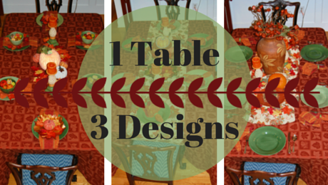 Fall Tablescapes|1 Table, 3 Designs|classictasselsandmore.com