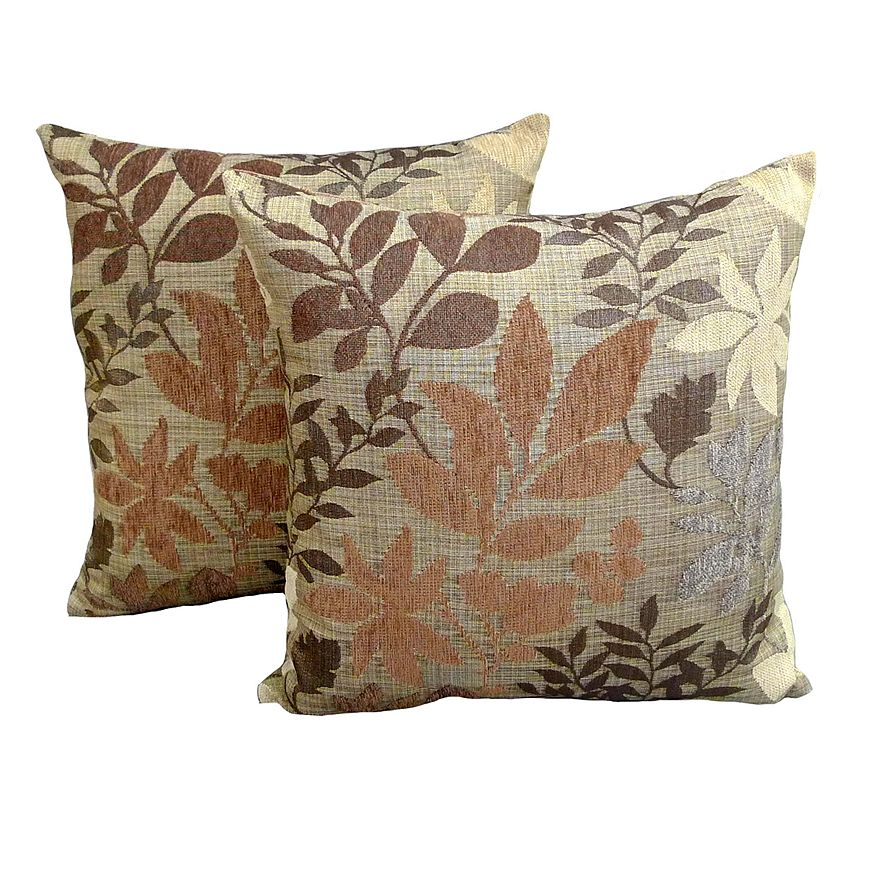Essentials Bristol Chenille Jacquard Decorative Pillows from Kohls