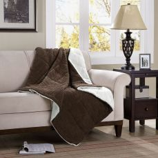 Premier Comfort Corduroy & Berber Down-Alternative Throw from Kohls