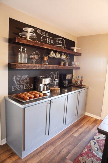 Coffee/Tea Station from Magnolia Homes