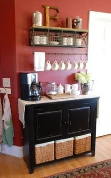Coffee/Tea Station from Vintage Wren