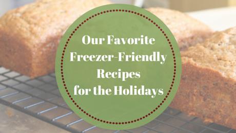 Freezer-Friendly Recipes for the Holidays | www.classictasselsandmore.com