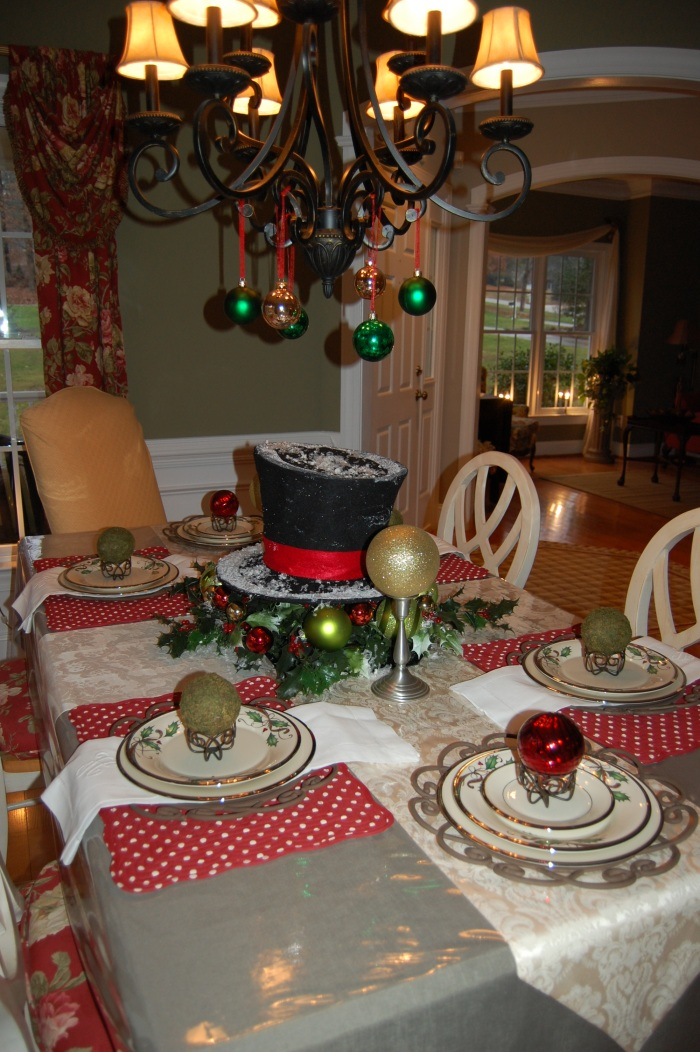 Dining Room1-Classic Tassels Christmas Home Tour
