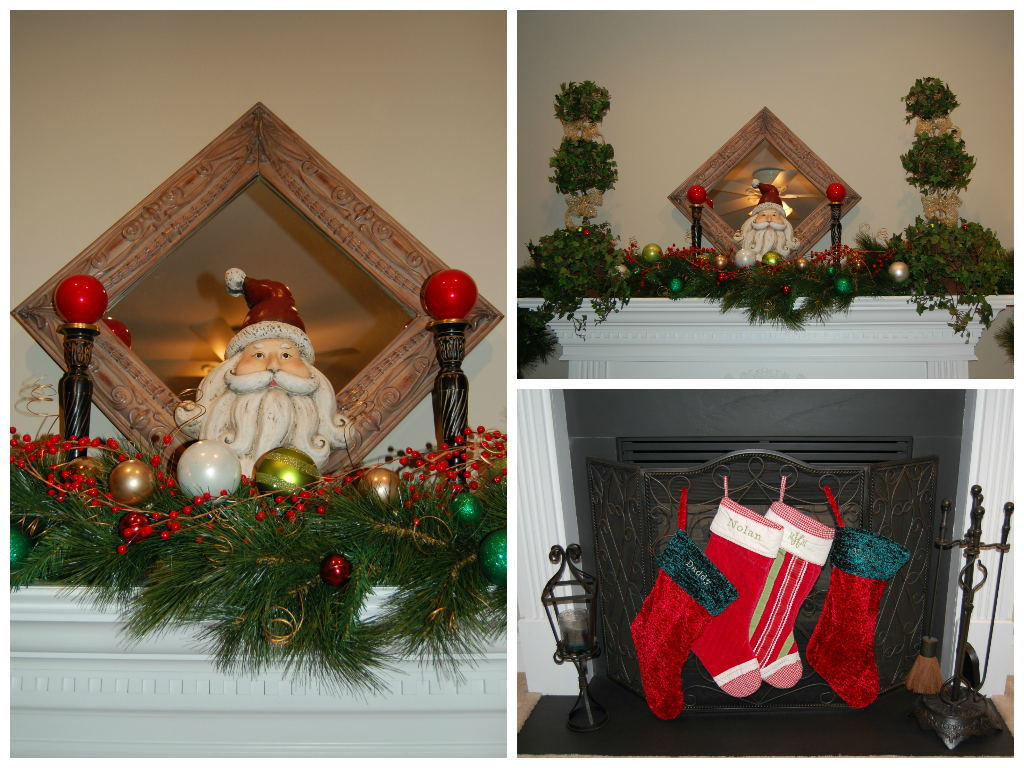 Family Room2-Classic Tassels Christmas Home Tour