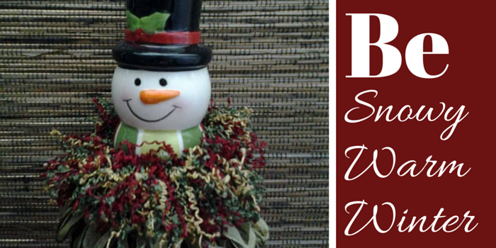 Top Hat Snowman Tassel