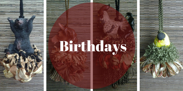 Birthday Tassel from Classic Tassels and More