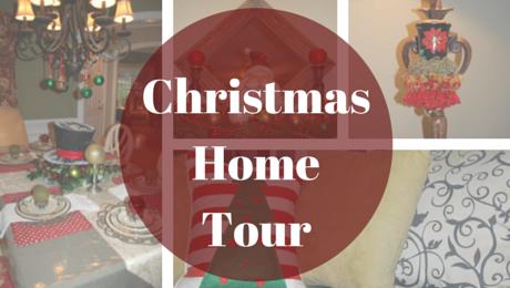 Christmas Home Tour | www.classictasselsandmore.com
