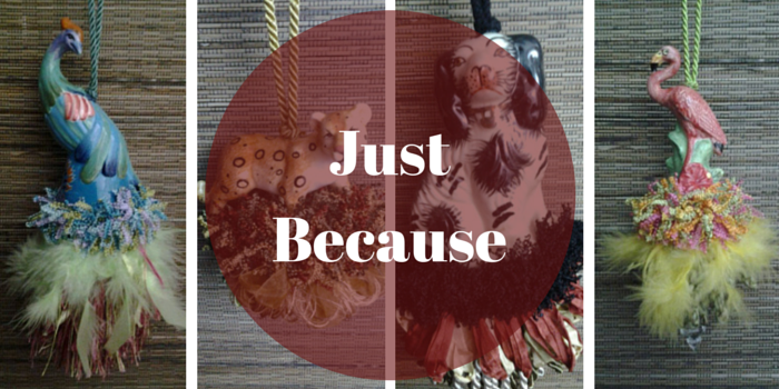 Just Because Tassel from Classic Tassels and More