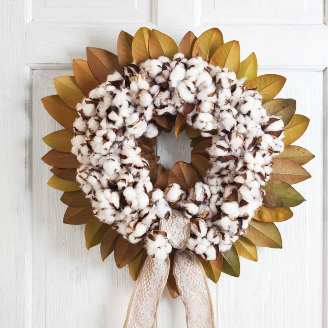 Magnolia Wreath from Southern Lady Magazine