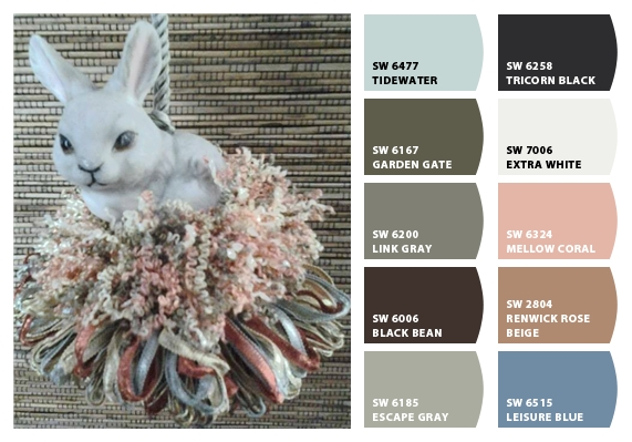 Bunny Tassel Chip Card