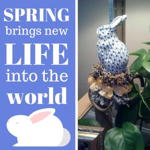 Spring brings life into the world