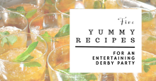 Five Yummy Recipes for An Entertaining Derby Party | www.classictasselsandmore.com