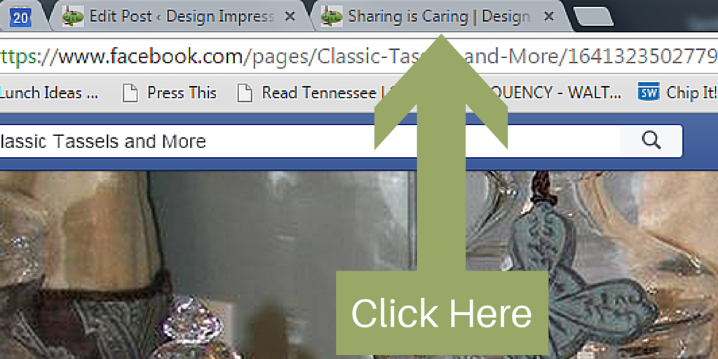 Tab Click Here