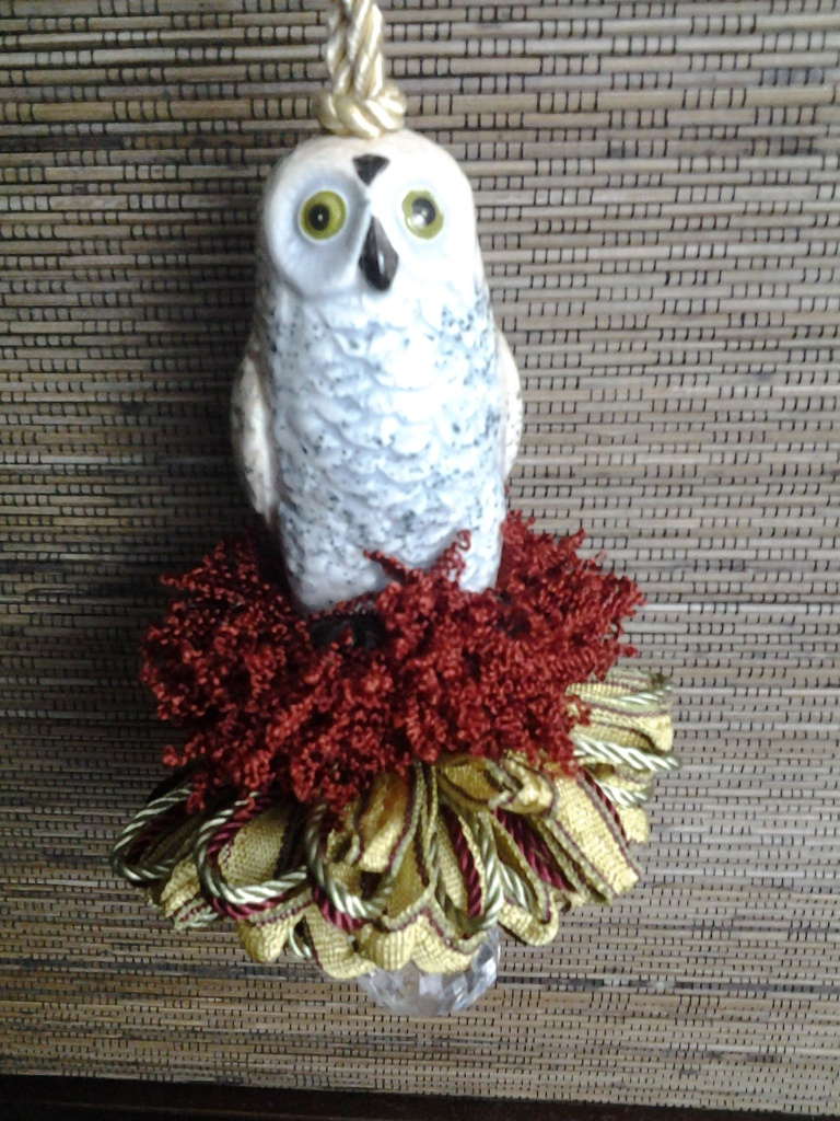White Owl Custom Tassel
