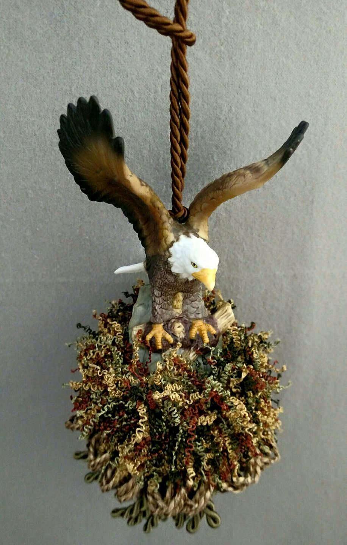 Eagle Two Tassel | www.classictasselsandmore.com