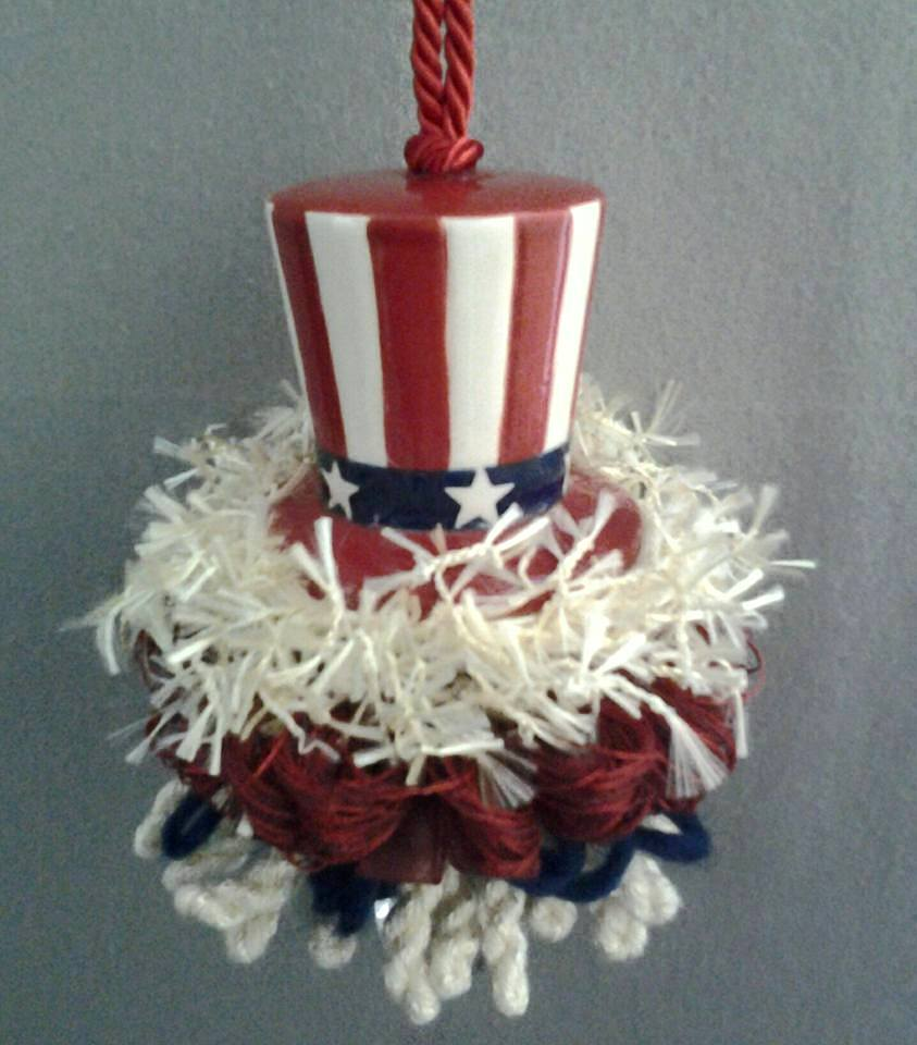 Patriotic Top Hat Tassel | www.classictasselsandmore.com