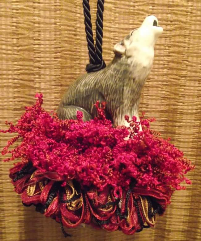 Howling Wolf Tassel | www.classictasselsandmore.com