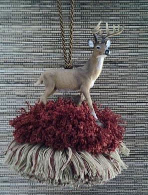 Texas Deer Tassel | $39.95 | www.classictasselsandmore.com