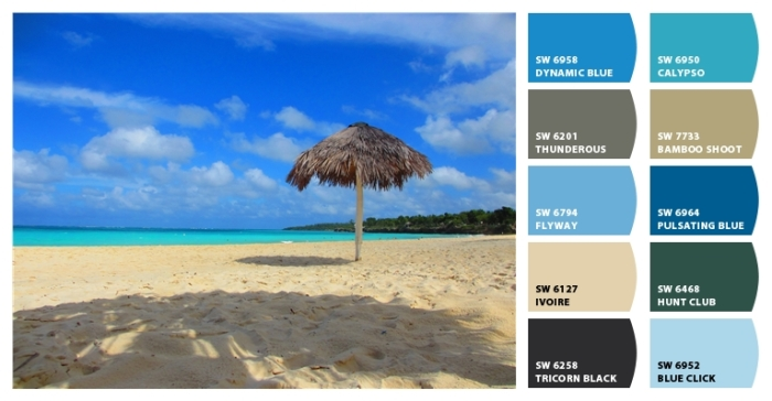 Beach Color Palette 10 from Classic Tassels and More