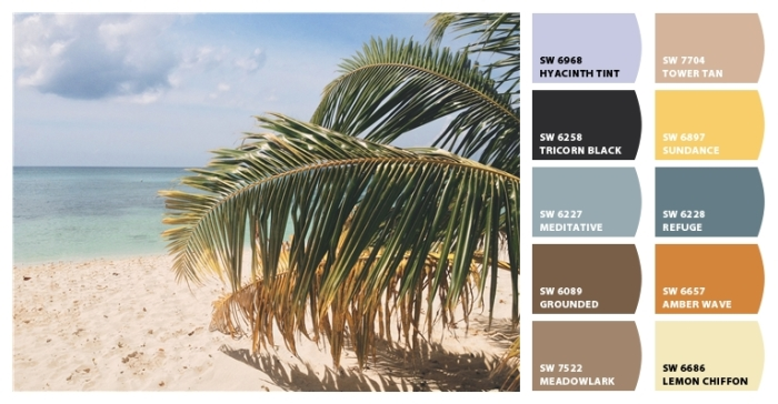 Beach Color Palette 14 from Classic Tassels and More