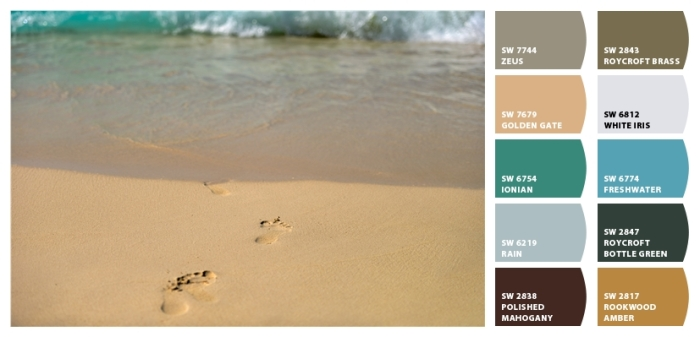 Beach Color Palette 15 from Classic Tassels and More
