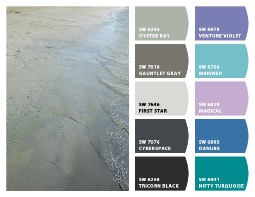 Beach Color Palette 2 from Classic Tassels and More