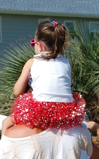 July 4th Parade Tutu with Classic Tassels and More
