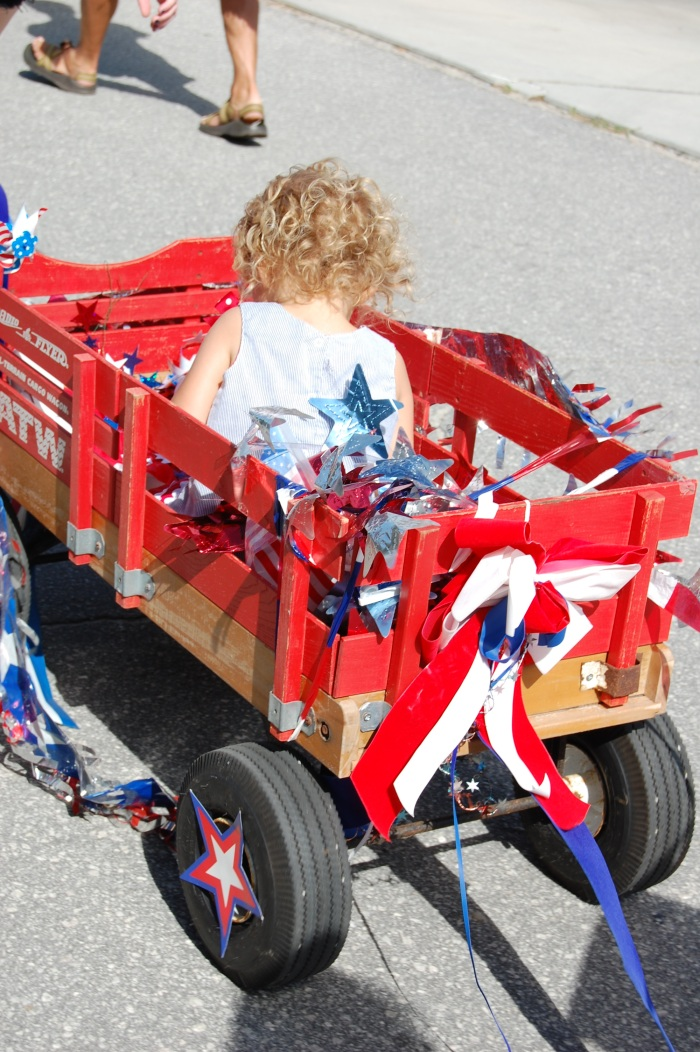 July 4th Parade Wagon with Classic Tassels and More