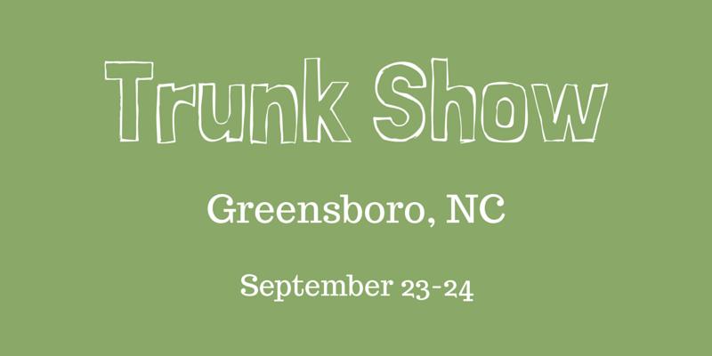 Greensboro Trunk Show