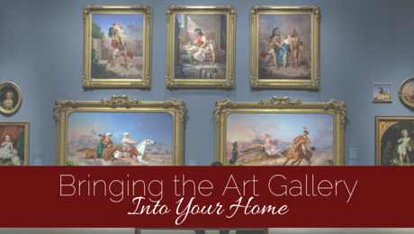 Bringing the Art Gallery Home with Classic Tassels and More
