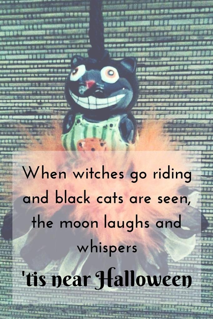 Black Cat Tassel for Halloween is Near|classictasselsandmore.com