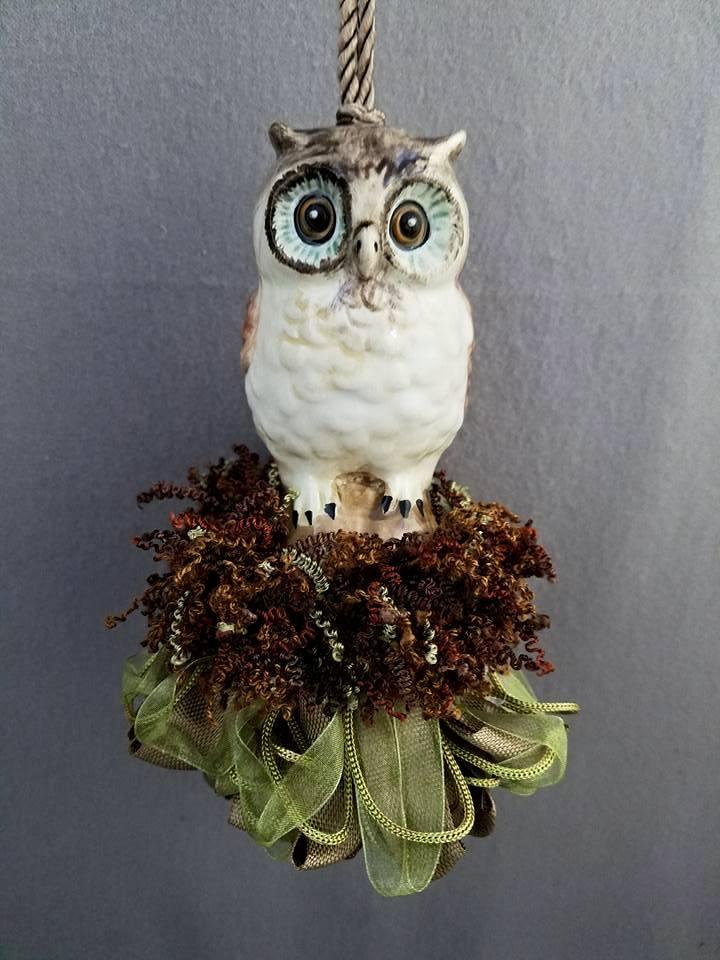 Wide-Eyed Owl Tassel | www.classictasselsandmore.com