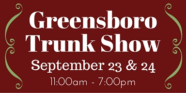 Greensboro Trunk Show 2015|classictasselsandmore.com