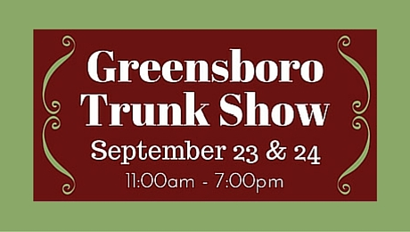 Take a Fall Field Trip to Jamestown for our Trunk Show|classictasselsandmore.com