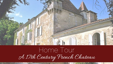 Home Tour: A 17th Century French Chateau|classictasselsandmore.com