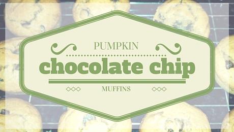 Pumpkin Chocolate Chip Muffins|classictasselsandmore.com