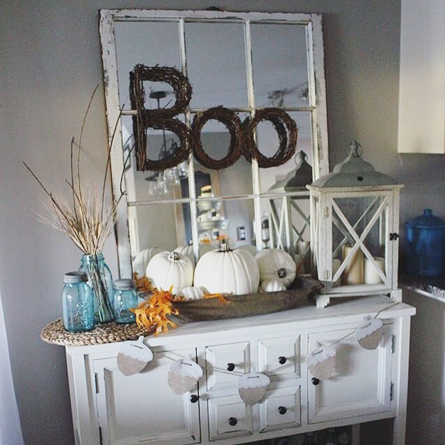 Boo Vignette from The Glam Farmhouse