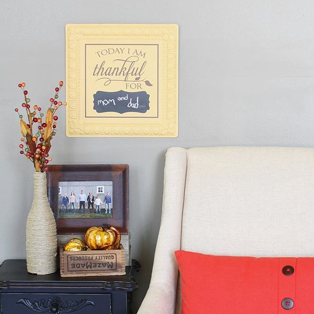 Write-On Thankful Board from Simply Said