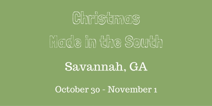 Christmas Made in the South 2015-classictasselsandmore.com