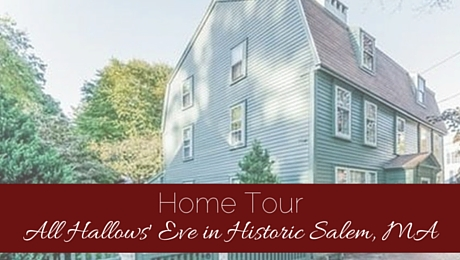 Home Tour: Walk Through All Hallows' Eve in this Historic Salem, MA Home|classictasselsandmore.com