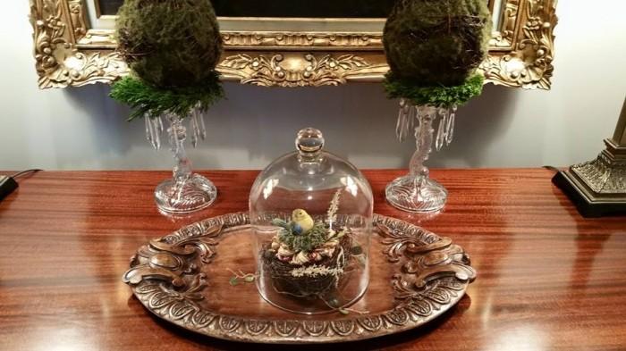 Bird Tassel in a Cloche|classictasselsandmore.com