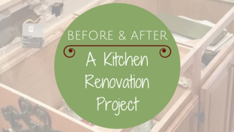 Before and After Pictures-:A Kitchen Renovation Project|classictasselsandmore.com