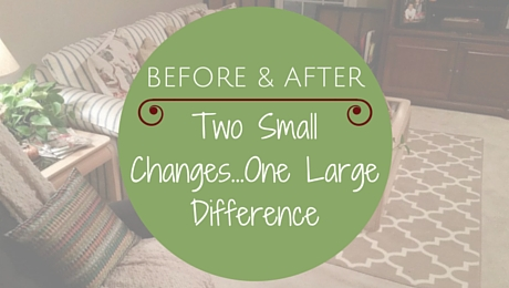 Before and After: Two Small Changes...One Large Difference|classictasselsandmore.com