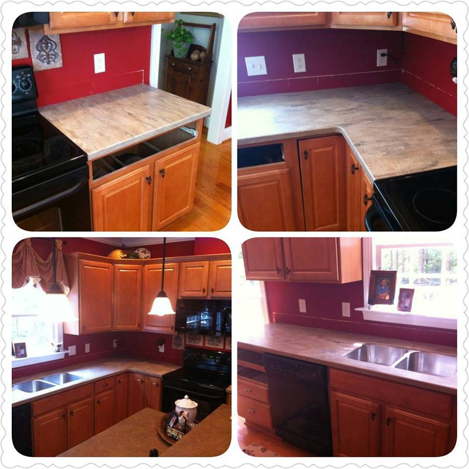 Before and After Pictures: A Kitchen Renovation Project|CounterInstall7|classictasselsandmore.com
