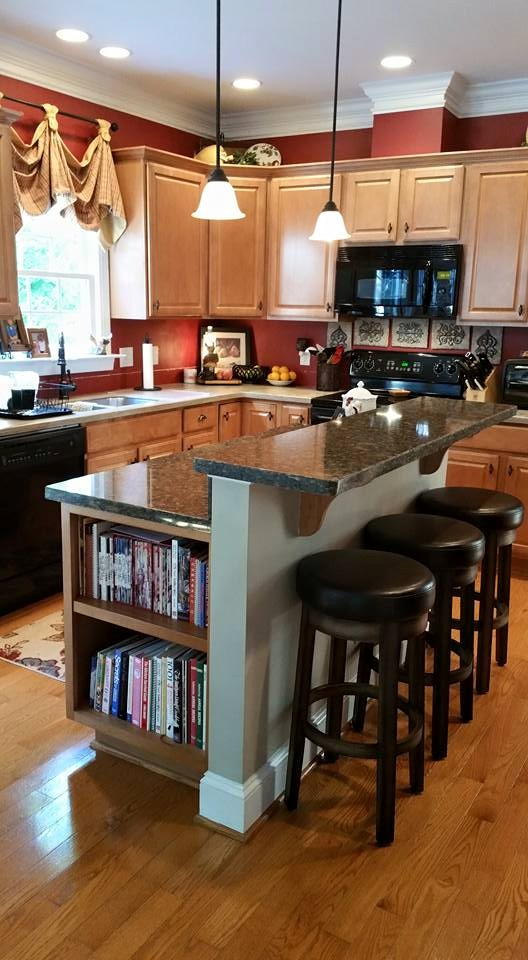 Before and After Pictures: A Kitchen Renovation Project|CounterInstall5|classictasselsandmore.com
