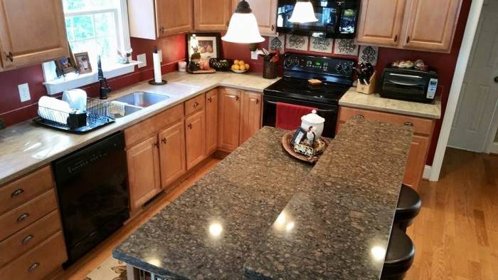 Before and After Pictures: A Kitchen Renovation Project|CounterInstall6|classictasselsandmore.com