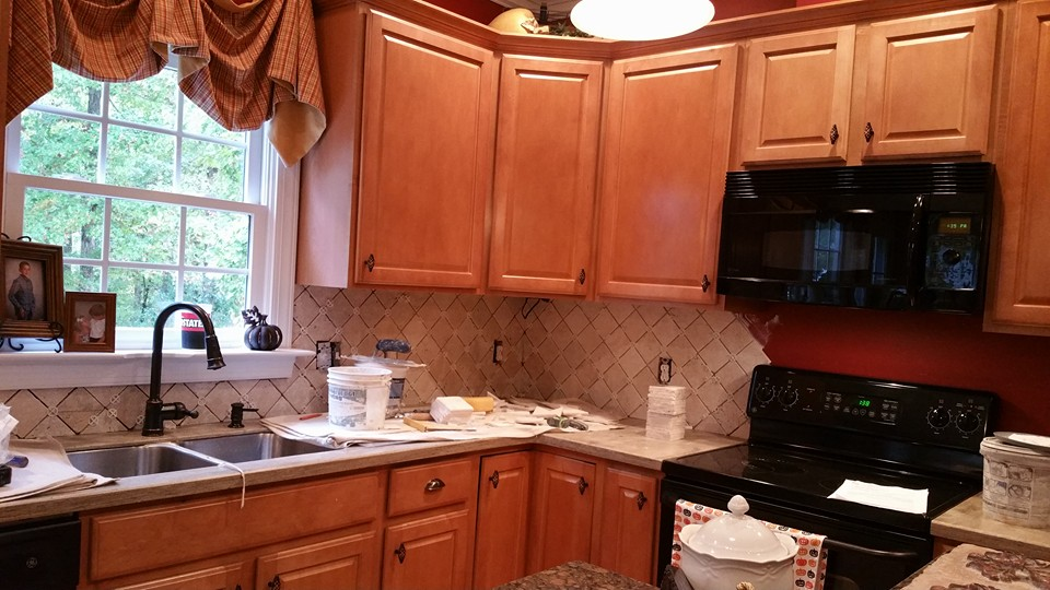 Before and After Pictures: A Kitchen Renovation Project|SecondDemo3|classictasselsandmore.com